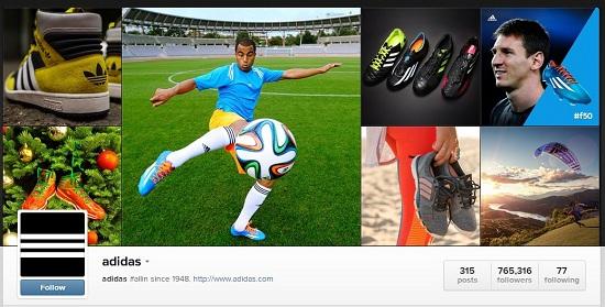 Adidas Instagram