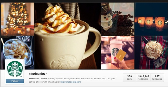 Starbuck Instagram