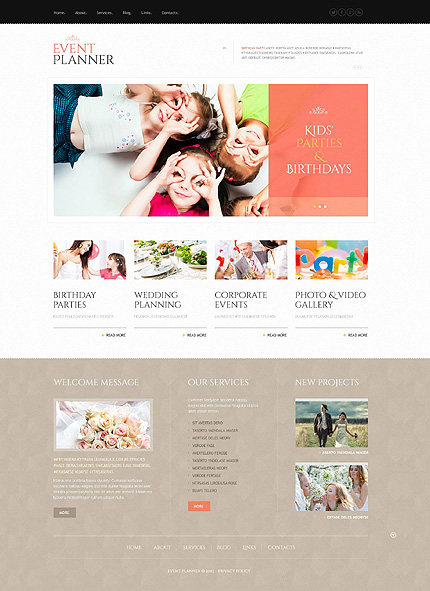 Event Planner - Mobile-Friendly Event Planner WordPress Theme