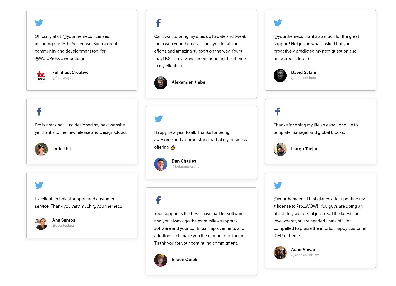 X Theme Customer reviews