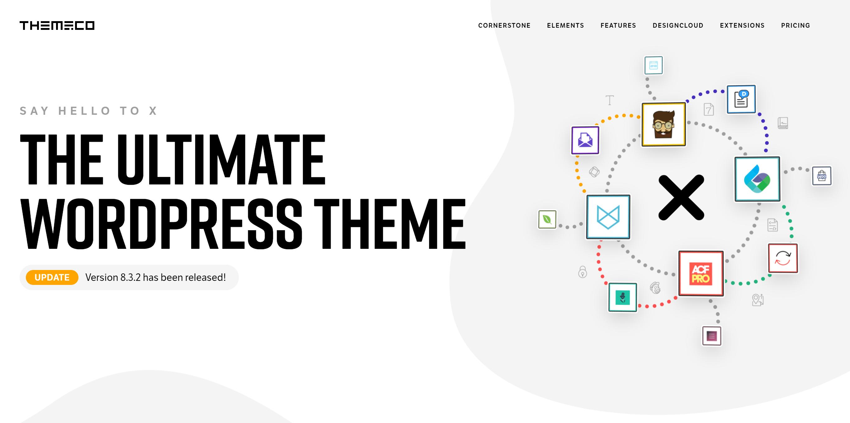 X Theme ultimate wordpress theme