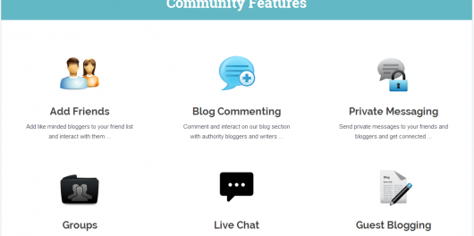 Blog Engage community