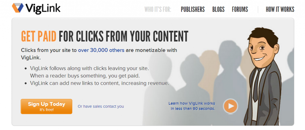 VigLink Review Join Affiliate Program
