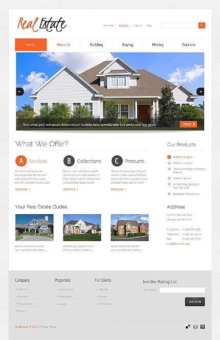wordpress theme for real estate website