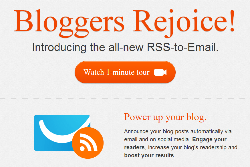 RSS to Email GetResponse Review