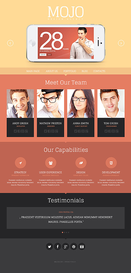 Aesthetic Appeal - Design Agency WordPress Theme