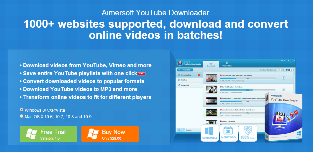 online youtube downloader free download