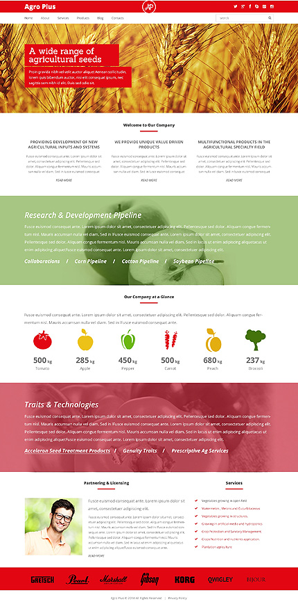Farming Technologies - Farm Responsive WordPress Theme
