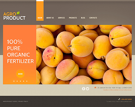 Gifts of Nature - Agriculture WordPress Theme