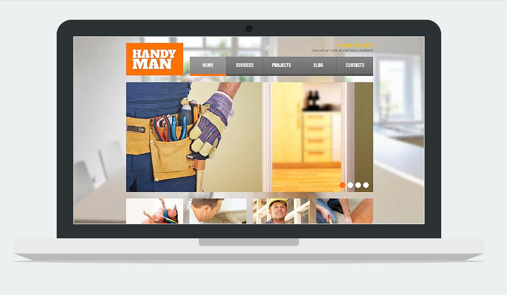 Handyman WordPress ResponsiveTheme