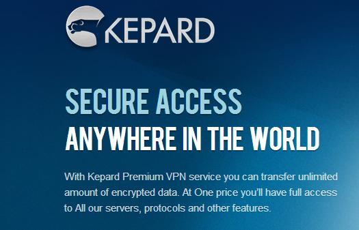 Giveaway: 3 Premium Kepard VPN Services
