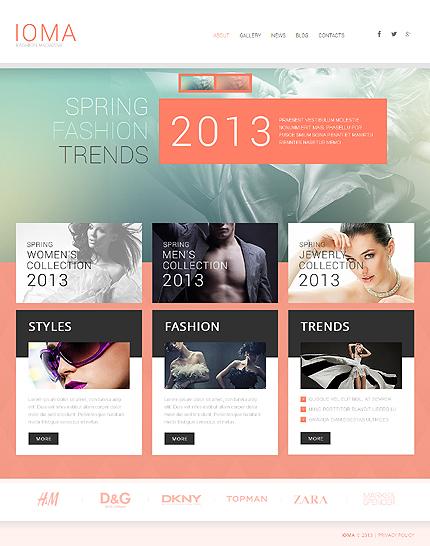 Latest Fashion Trends: Fashion WordPress Design