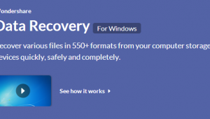 OFFICIAL Wondershare Data Recovery Retrieve Data Software