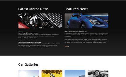 Car Club Responsive WordPress Theme