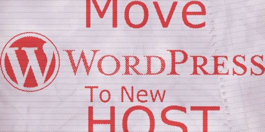 Move WordPress to a New Host
