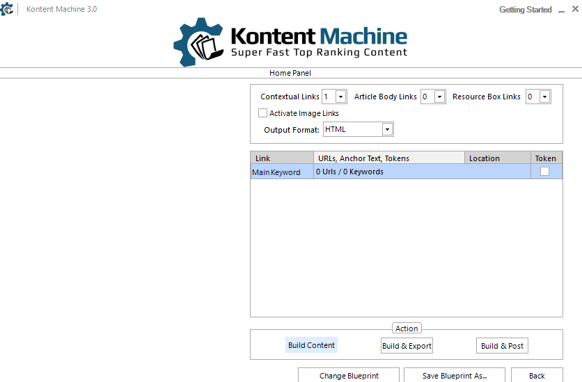 kontent machine review -build content