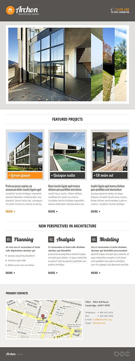 Architecture Facebook Template (2)