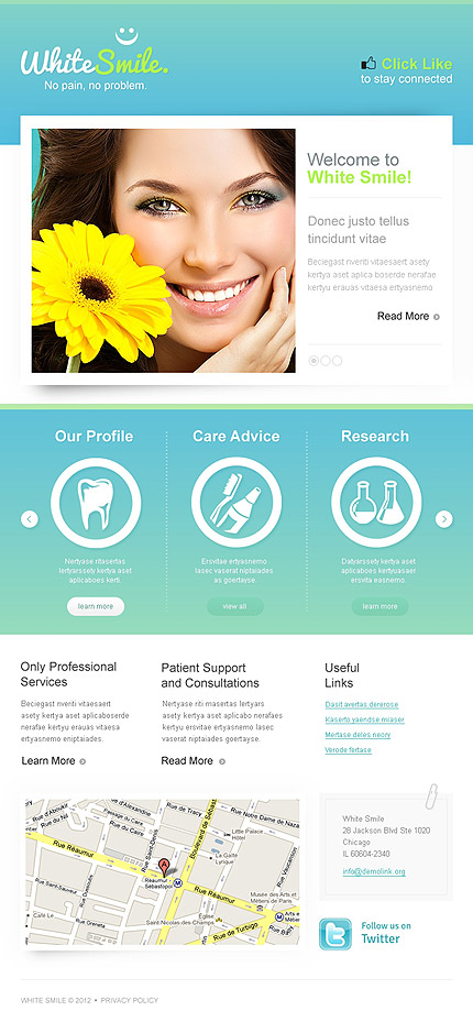 Dentistry Facebook Template