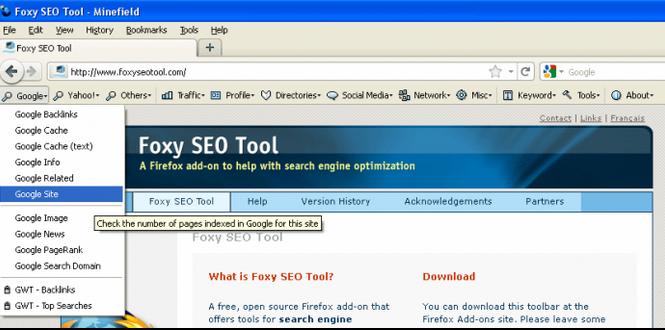 Foxy SEO Tool Add ons for Firefox