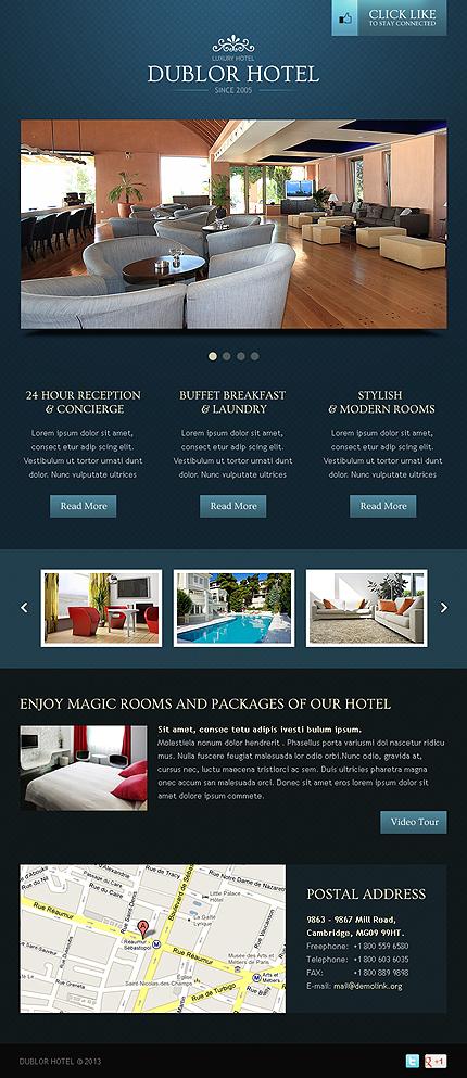Hotels Facebook Template (3)