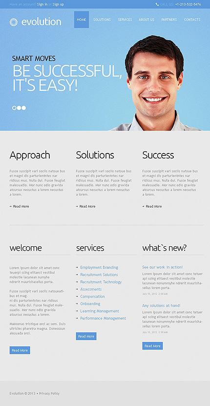 Management Company Facebook Template 1