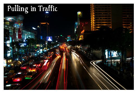 Pulling in Traffic Directions for Attention Grabbing Blog Post Titles