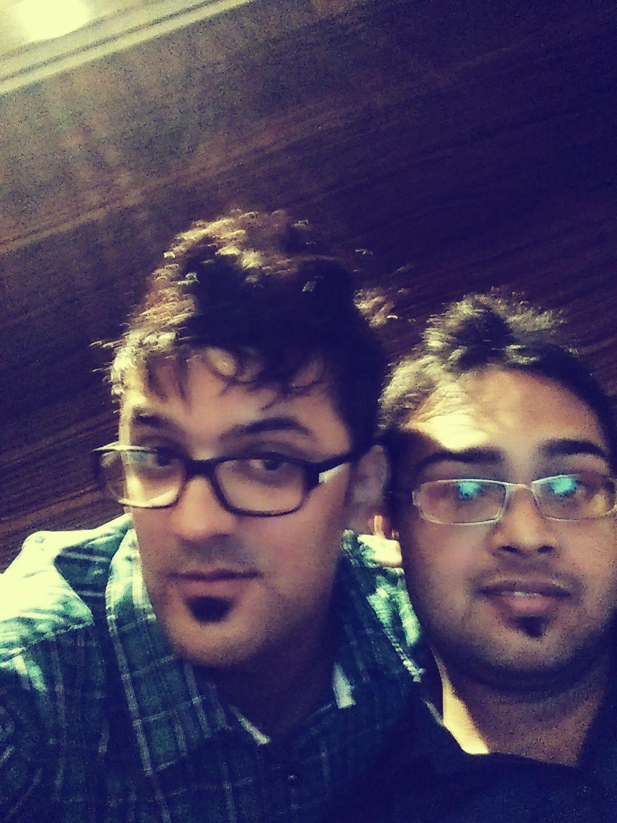 With Avinash Mishra