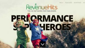 RevenueHits ad network