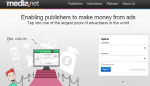 Media.Net Google Adsense Alternatives for Bloggers