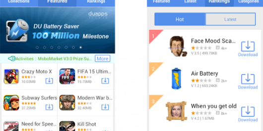 MoboMarket A Contemporary Android App Marketplace
