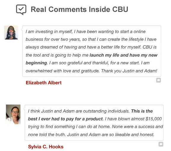 Clickbank University Review Testimonials