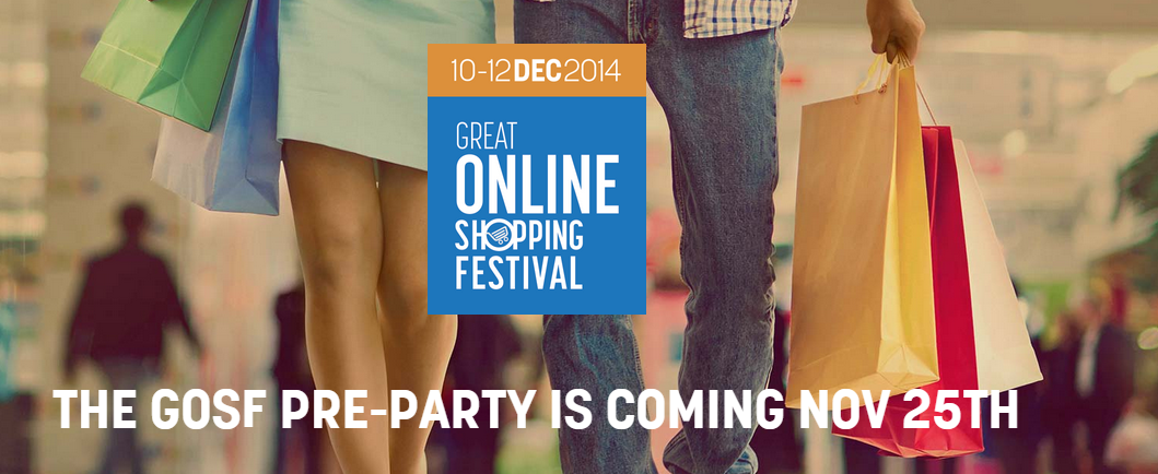 What to expect from Great Online Shopping Festival 2014