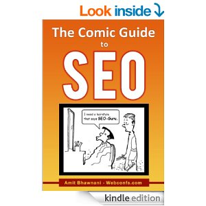 SEO for Beginners written by Amit Bhawnani