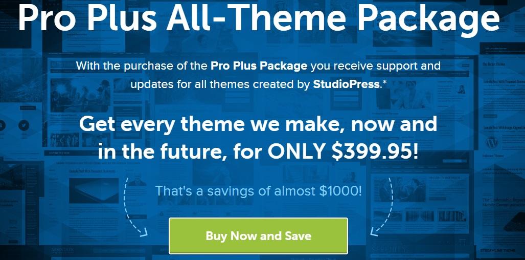 StudioPress Themes Blackfriday