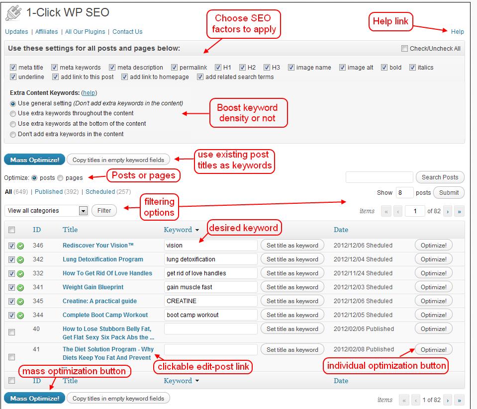 1 Click WP SEO WordPress Plugin