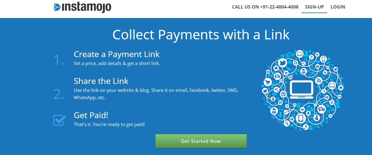Instamojo Review Collect Credit Card and Net-Banking Payments Online in India