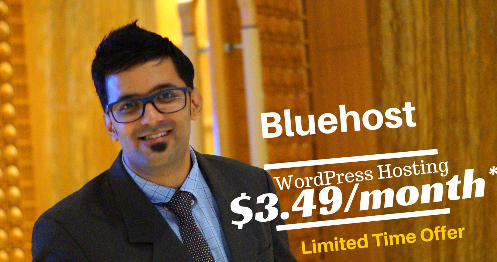 Bluehost Hosting - Build A Website