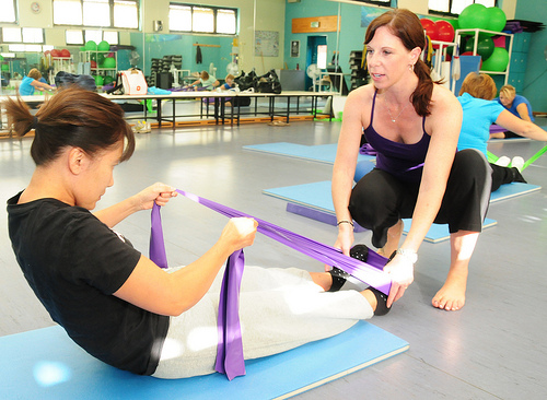 Fitness instructor- best part time job for college students