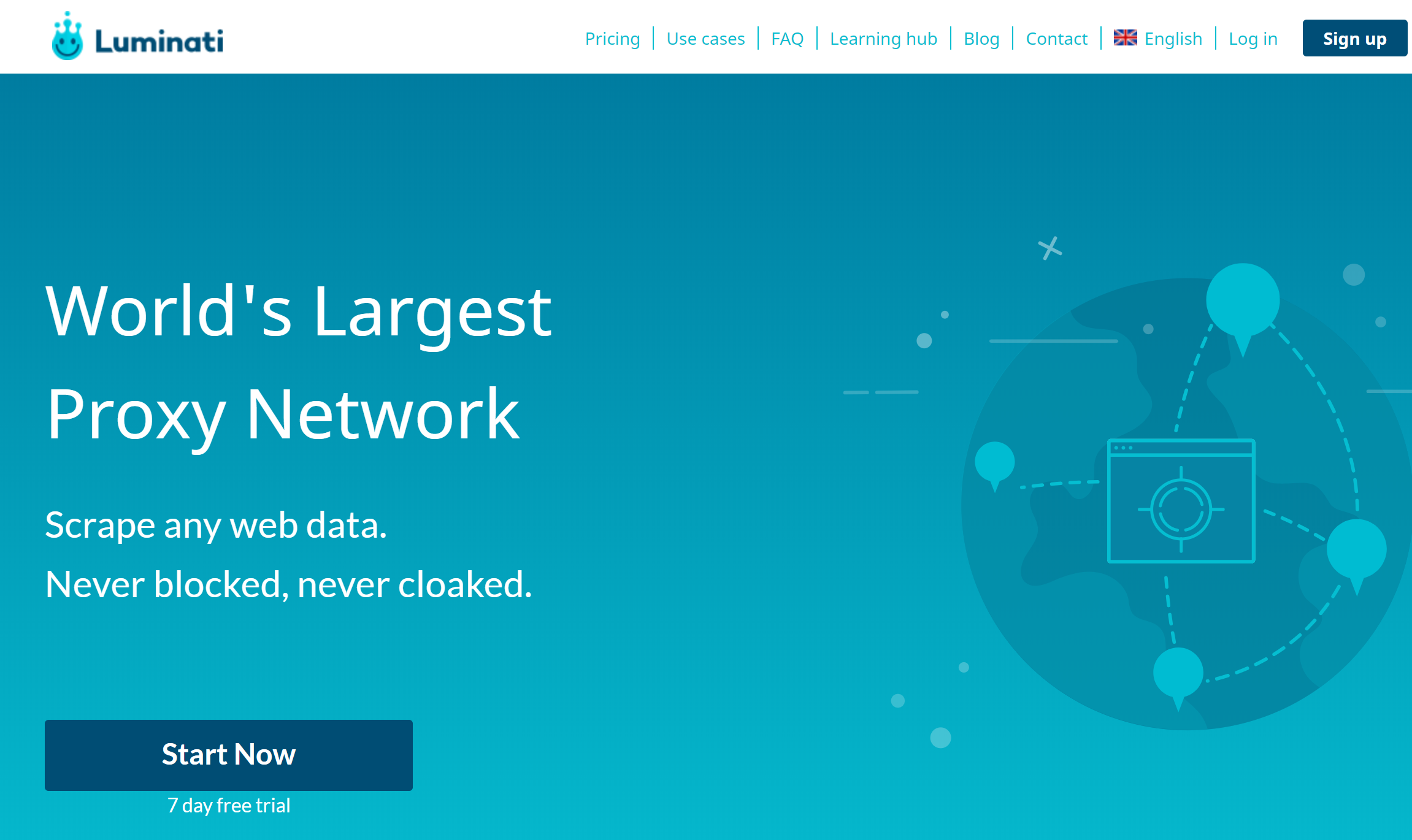 Luminati Proxy network- Best P2P Proxy