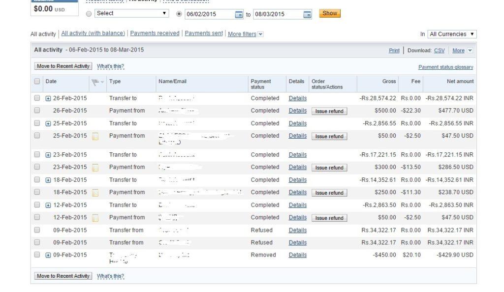 Paypal Earning screenshot