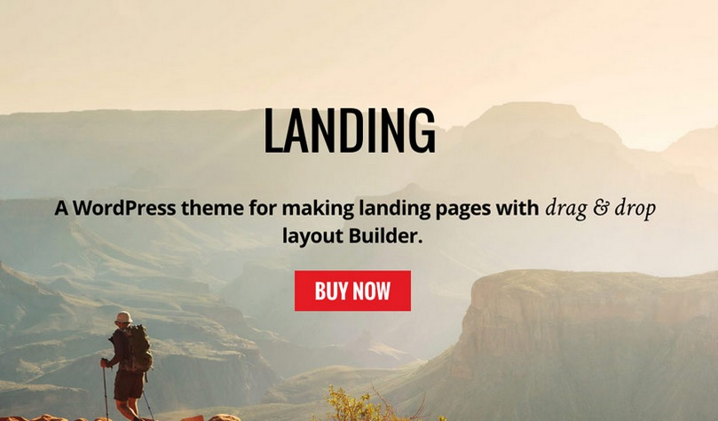 Build Awesome Landing Pages by themify