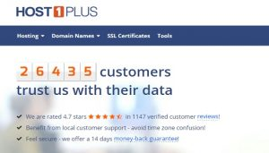 Host1plus review VPS hosting