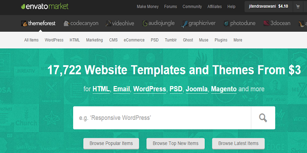 Why to use Themeforest for Premium Themes