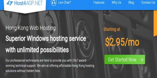 host4asp Hong Kong hosting plans