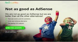 revenuehits best AdSense Alternative