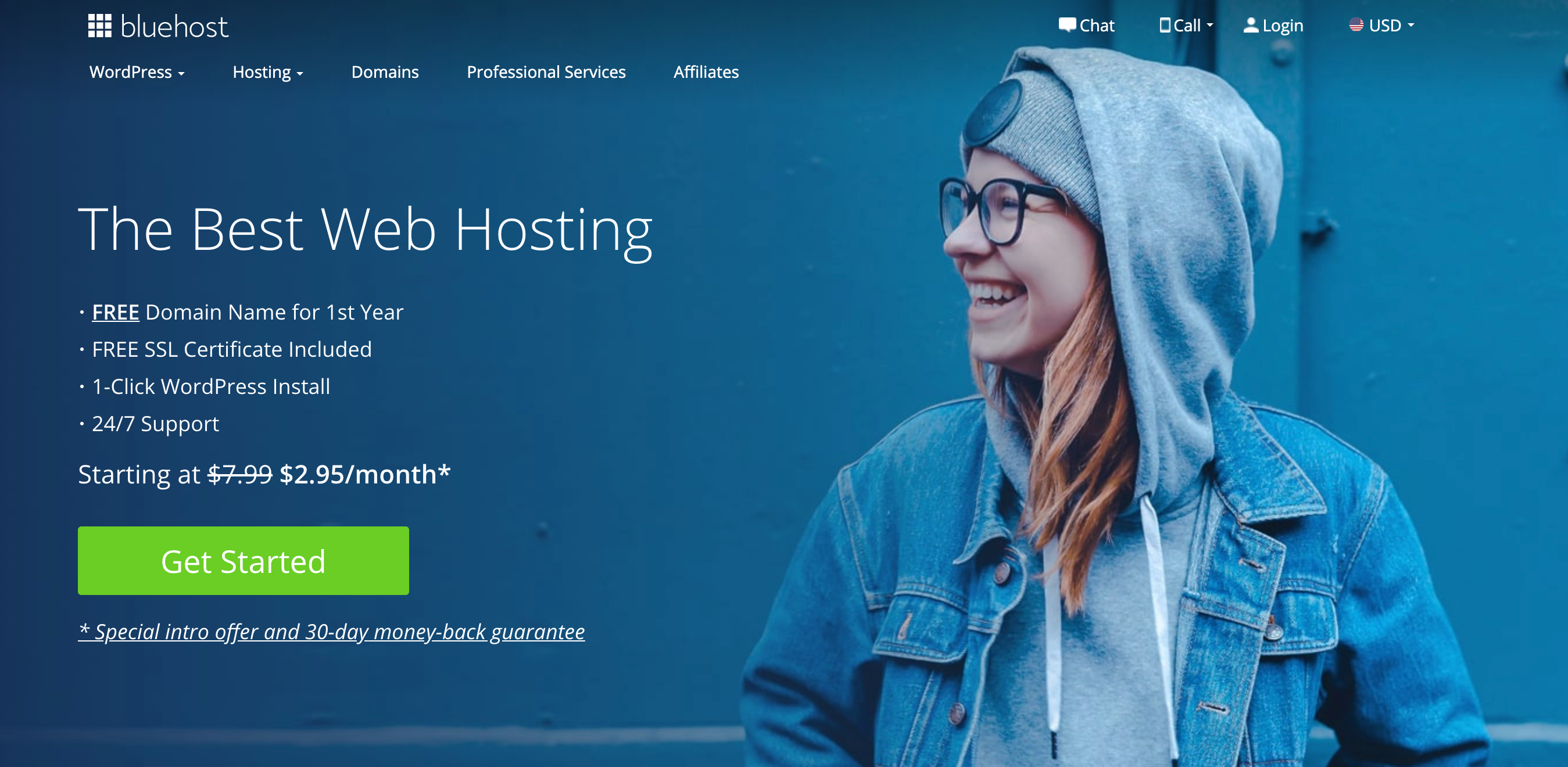 BlueHost Coupon Codes- Get It Fir $2.95