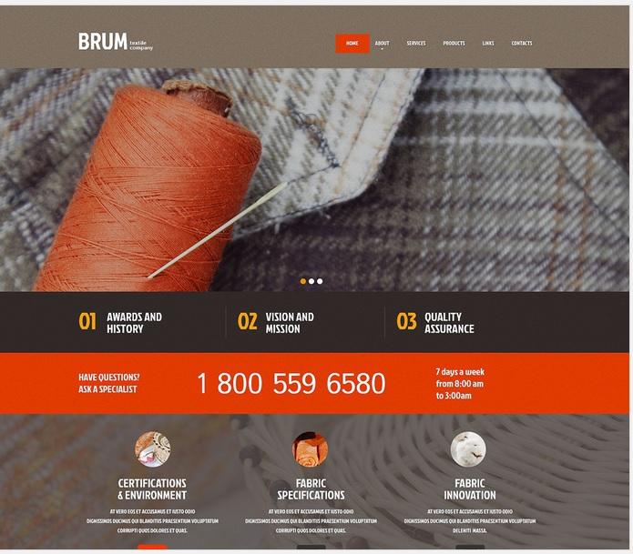 Cloth Treatment WordPress Site