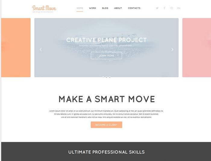 Designer Portfolio WordPress Template
