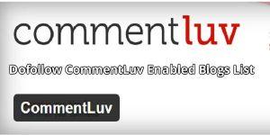 Dofollow CommentLuv Enabled Blogs List