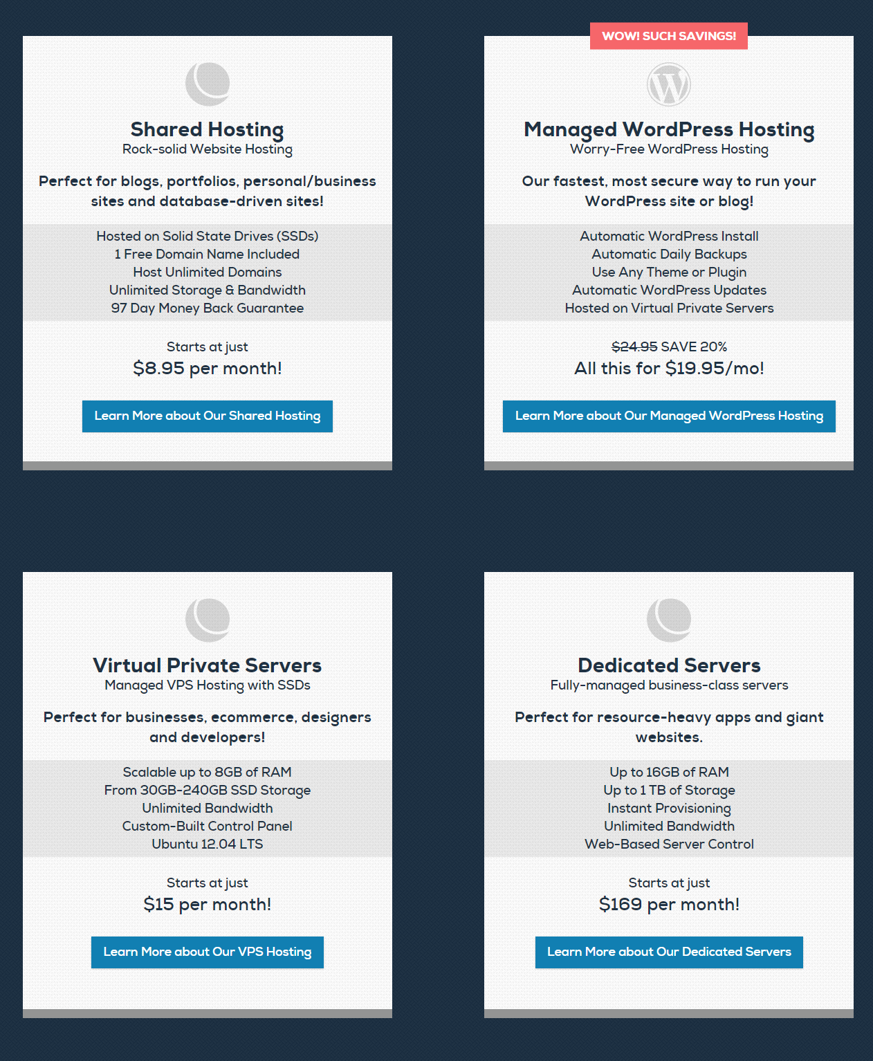 DreamHost Best web hosting features vps hosting dedicated hosting